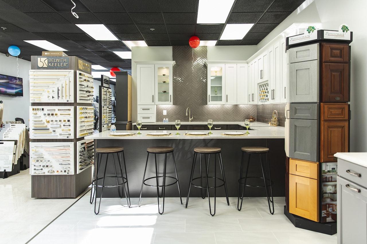 Craft new showroom