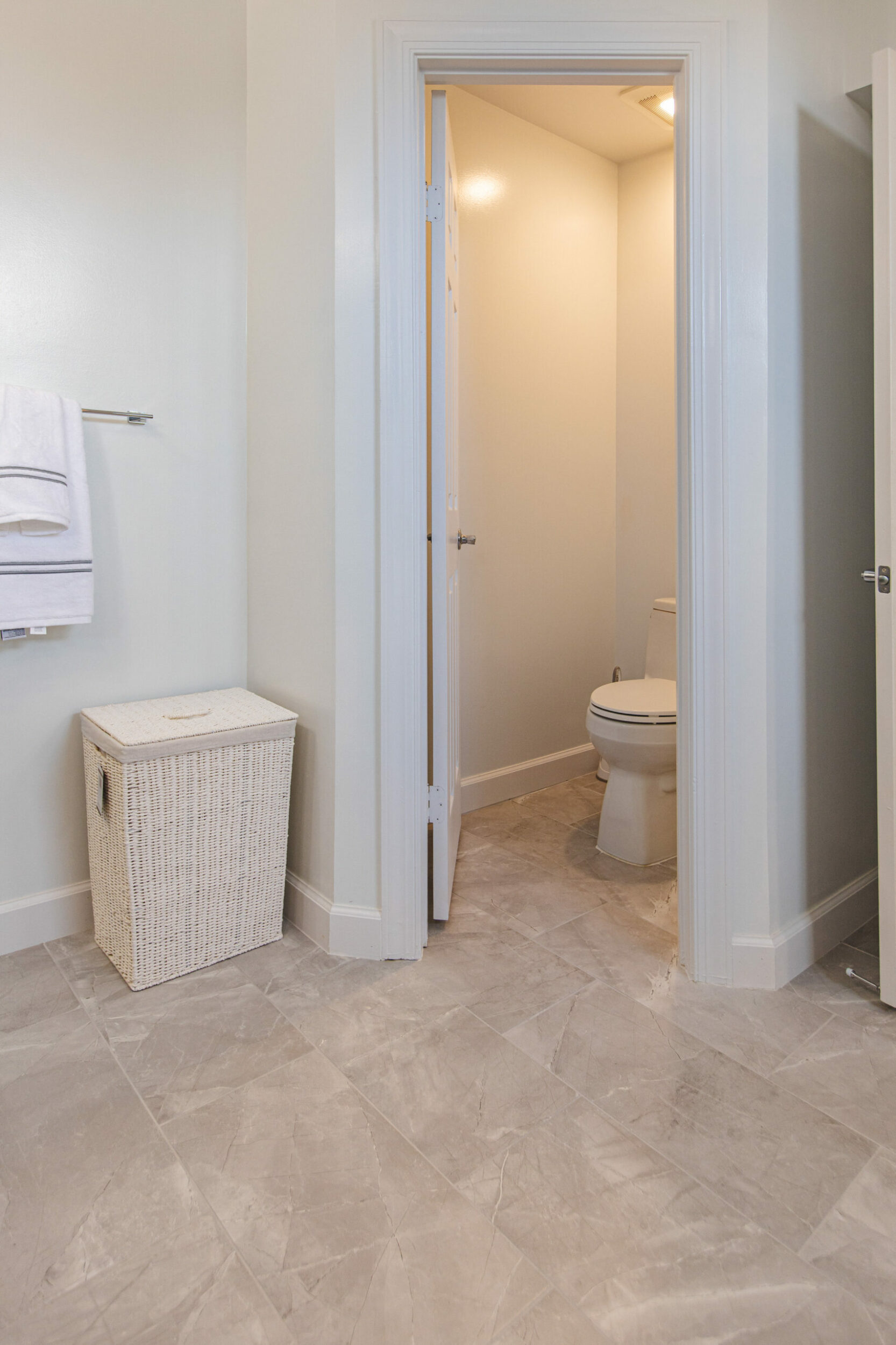 bathroom floor remodeling in Clifton