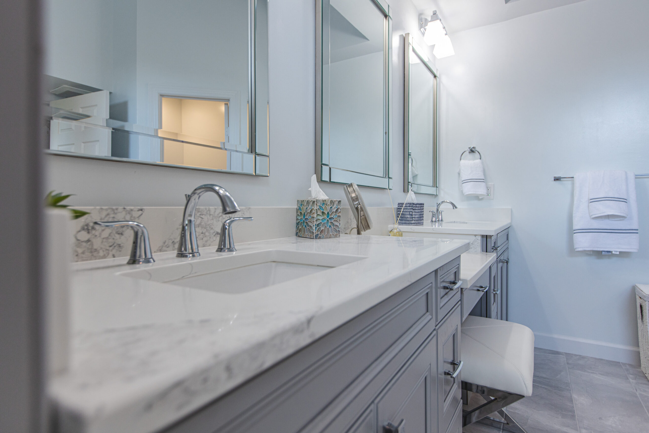 bathroom remodeling in Clifton